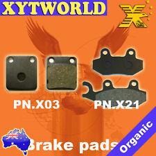 FRONT REAR Brake Pads KAWASAKI KLX 125 2010 2011 2012 2013 2014 2015 2016