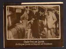 117846 Foto DKW Motoren Großer Preis von Spanien König mit Teilnehmern 1928 Rasm