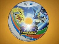 *AWESOME GAME* Nintendo Wii U Pokken Tournament DISC ONLY!