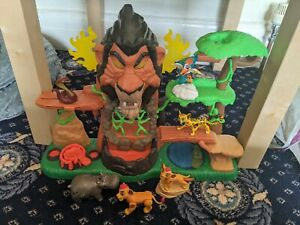 Disney Lion Guard Rise Of Scar Playset Toy Kion Rare Toy with figures lion king