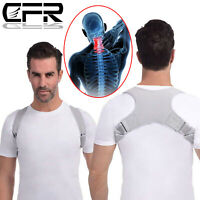 2019 Adjustable Posture Corrector Support Back Shoulder Strap Brace Men Women LK