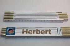 Zollstock mit Namen     HERBERT   Lasergravur 2 Meter Handwerkerqualität
