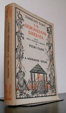 Torquato Tasso LA GERUSALEMME LIBERATA libro letteratura 1941 Piero Nardi