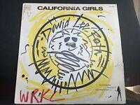 "DAVID LEE ROTH CALIFORNIA GIRLS 12"" 1985 WARNER BROS PRO-A-2235 PROMO"