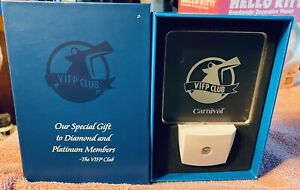 Carnival Cruise Lines Night Light VIFP Club Gift New In Box Never Used