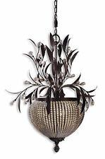 Cristal De Lisbon Bronze/Crystal 3-Light Chandelier Fixture - Uttermost 21004