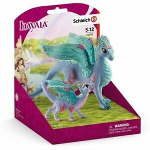 Schleich Flower Dragon and Baby Bayala Realistic Collectible Figurines