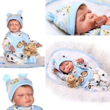 Real Baby Boy Doll Realistic Dolls Lifelike Reborn Silicone Babies Toys Gifts