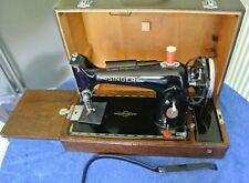 1949 Antique electric Singer 201K sewing machine, Vintage sewing machine