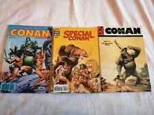 Lot Marvel Conan le Barbare et Conan Special edition Semic comics et Mon journal