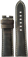 22mm RIOS1931 for Panatime Stone Vintage Leather Watch Strap for Panerai Deploy