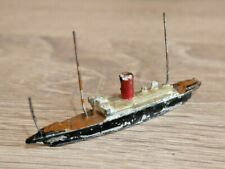 VINTAGE LEAD WATERLINE SHIP TOY RARE CRESCENT OR SIMILAR 1930's   I163