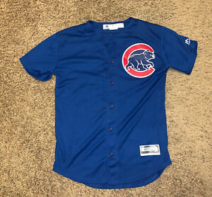 Anthony Rizzo Chicago Cubs Boys Youth Boys Majestic Jersey Sz. L 14/16