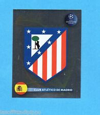 PANINI-CHAMPIONS 2008/2009-Fig.77- SCUDETTO/BADGE - ATLETICO MADRID -NEW BLACK