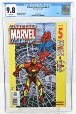 Ultimate Marvel Team-Up #5 2001 CGC Graded 9.8 Iron Man Marvel Comics