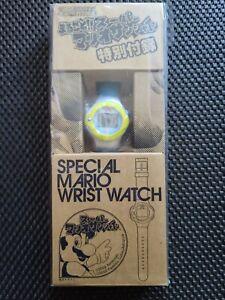 Vintage Nintendo Super Mario Sunshine wrist watch rare promo 2002 GameCube world