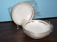 """LOT 8 OXFORD ANDOVER BY LENOX FRUIT BOWLS 5 5/8"""" NEVER USED FREE US SHIPPING"""