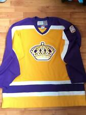 Los Angeles Kings CCM retro purple and gold jersey, size XL