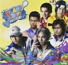 "MUSICAL ""THE PRINCE OF TENNIS"" WE ARE ALWAYS TOGETHER-JAPAN CD+DVD D50"