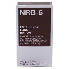 Notverpflegung NRG-5 1 Packung 500 g (9 Riegel) Survival Food MFH NEU