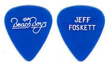 Vintage Beach Boys Jeff Foskett Clear Blue Guitar Pick - 1980s Tours
