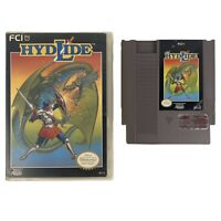 Hydlide Nintendo (Nintendo, NES, 1989) Game- Cart And Hard Case Tested