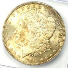 1891 Morgan Silver Dollar $1 (1891-P) - ICG MS64+ Plus Grade - $650+ Value!