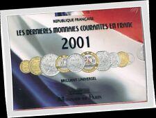 BU Frankrijk 2001   ***  coffret BU France 2001  !!!!