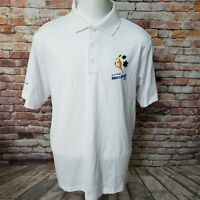 ADIDAS CLIMALITE MEN'S GOLF FITNESS RUNNING POLO SHIRT SIZE L Z18-11