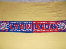 "LYON ""tes fidèles Supporters"" Écharpe Supporter football"