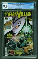 DC Year of the Villain Special #1 CGC 9.8 First 1st Print Bulletproof Comics Cvr