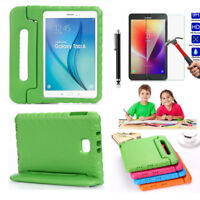 For Samsung Galaxy Tab A 8.0 T380 T385 Rubber Handle Shockproof EVA Case Cover