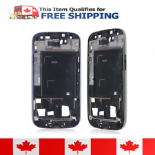 Samsung Galaxy S3 i9305 White Faceplate Front Bezel Midplate Frame Housing
