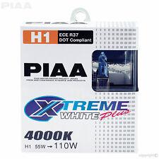HE-307 (#11655) PIAA H1 BULBS XTREME WHITE PLUS 4000K 12V H1 UPRATED 55W = 110W