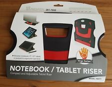 Aidata Notebook and Tablet Riser Black & Red Colour