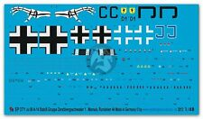 Peddinghaus 1/48 Junkers Ju 88 A-14 Markings Stab II./ZG 1 Mamaia Romania 2771