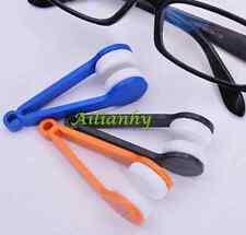 Glasses Sunglasses Eyeglass Spectacles Cleaner Cleaning Brush Wiper Wipe Kit New