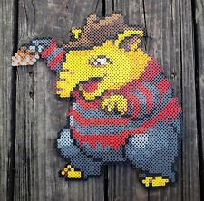 Freddy Krueger Drowzee Pokémon Pixel Art Perler Bead Art