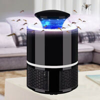 USB Mosquito Killer Lamp Insect Fly Bug Zapper Trap Pest LED Control UV Light CZ