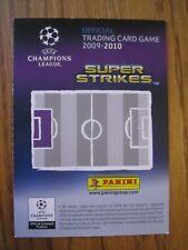 Panini Liga de Campeones 2009/10 - 10 Tarjetas de base