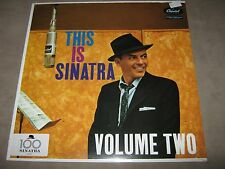 FRANK SINATRA This is VOLUME TWO 2 NEW MINT SEALED Vinyl LP 2016 100 Series RE