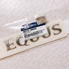 "86310 3N000 Genuine ""EQUUS"" Trunk Tail Gate Emblem for 2010 2015 Hyundai Equus"