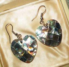 Handmade Abalone Shell Drop/Dangle Fashion Earrings