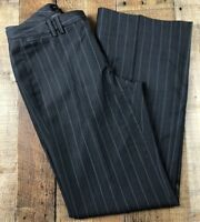 Banana Republic Martin Gray Fit Flat Front Full Leg Pants Size 4  29x31