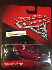 2017 Disney Cars 3 Pixar * Natalie Certain * HF104