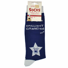 Lovely Boofle Grandad Socks Size 8-12 One Pair Birthday Christmas Gift Idea