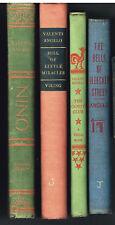 Lot of 4 Valenti Angelo Titles Rare Books!
