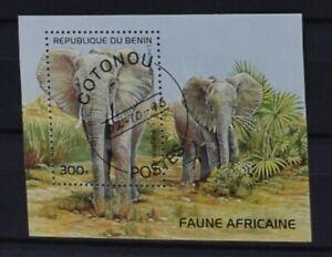 HP 755 Benin Elephants (MNH) block