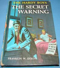 Hardy Boys #17 The Secret Warning 1st PC