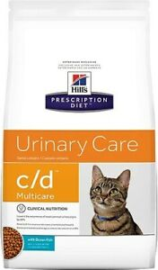 Hill's c/d Multicare Urinary Care With Ocean Fish Dry Cat Food 8.5 lb